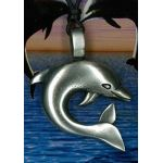 Dolphin Pewter Pendant PPK1001