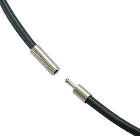Rubber Necklace Pendant Cord 46 c.m. x 3 m.m. NC9-1