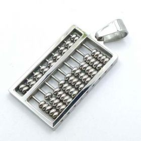 Abacus Pendant Stainless Steel STP19S
