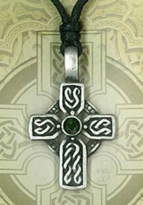 Celtic Cross Pewter Pendant PPK1019