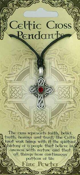 Pewter Pendant Celtic Cross PPK1020