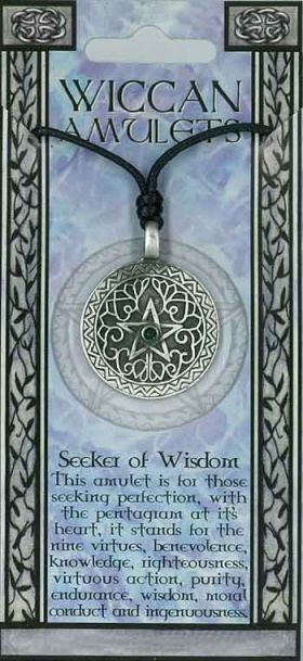 Pewter Pendant Wiccan PPK1034