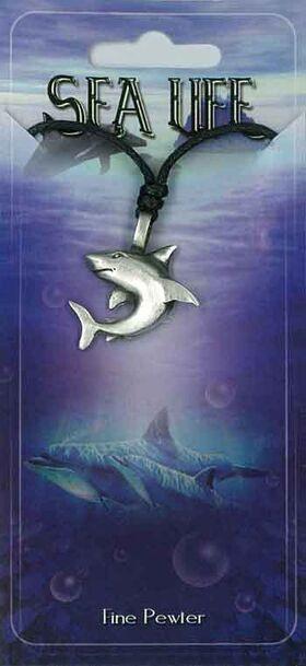 Pewter Pendant Shark PPK1000