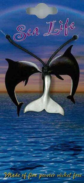 Pewter Pendant Whale Tail Fluke PPK1002